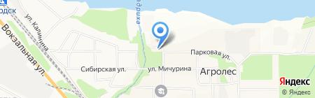 Новосибирская зональная станция садоводства Россельхозакадемии на карте Агролеса