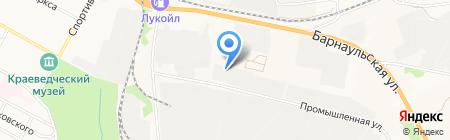 Комбинат бытовых услуг на карте Бердска