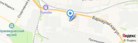 Костаправ на карте Бердска