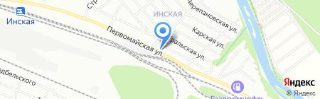 Закусочная на карте Новосибирска