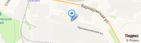 Грузовая автомойка на карте Бердска
