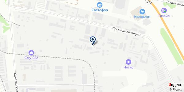 ОПКС на карте Бердске