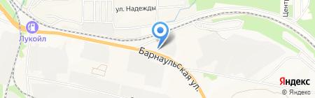 ТФ Гудз на карте Бердска