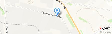 Сибпромтехнологии на карте Бердска