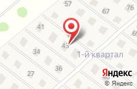 Схема проезда до компании Березки в Новолуговом