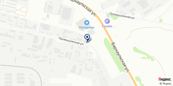 ПФК на карте Бердске