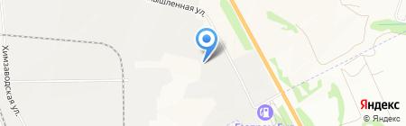 Втормет на карте Бердска