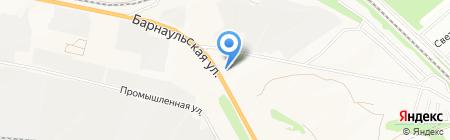 АЗС НК Нефть на карте Бердска