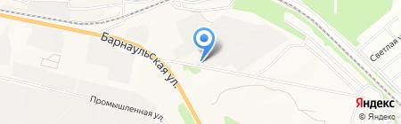 Каменное Дело на карте Бердска
