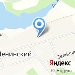 Ленинская средняя общеобразовательная школа №6 на карте Ленинского