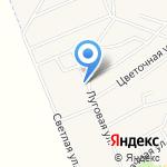 Продовольственный магазин на карте Октябрьского