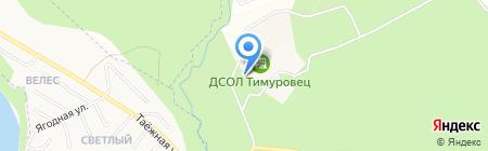 Тимуровец на карте Бердска