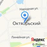 Администрация Барлакского сельсовета на карте Октябрьского