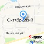 Радуга на карте Октябрьского