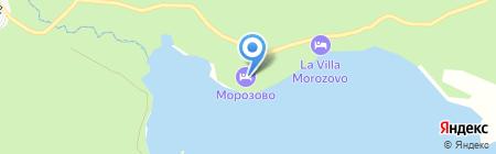 Морозово на карте Бердска
