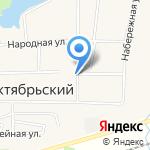 Беч на карте Октябрьского
