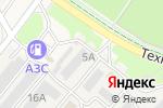 Схема проезда до компании Авангард-ТЕХ в Кольцово