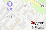 Схема проезда до компании Автосервис в Кольцово