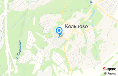 Местоположение на карте пункта техосмотра по адресу Новосибирская обл, рп Кольцово, тер Хоззона, стр 4