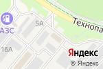 Схема проезда до компании Автобэст в Кольцово