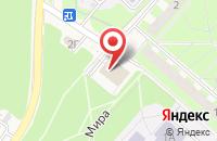 Схема проезда до компании Принт Микс в Кольцово