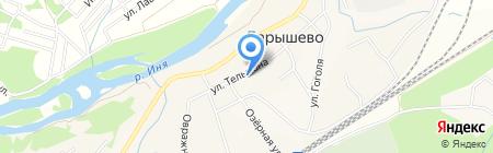 Росинка на карте Барышево