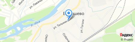 ССИБ на карте Барышево