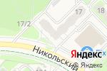 Схема проезда до компании Магазин по продаже фруктов и овощей в Кольцово