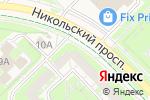 Схема проезда до компании ЖИЛФОНД в Кольцово