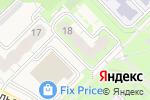 Схема проезда до компании Район-Недвижимость в Кольцово