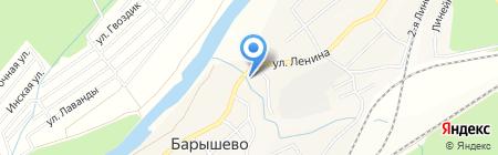 ОТиДО на карте Барышево