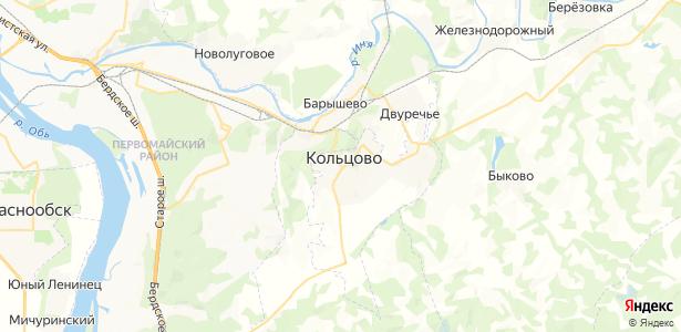 Кольцово на карте