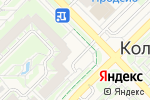 Схема проезда до компании Администрация пос. Кольцово в Кольцово