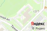 Схема проезда до компании Инновационный центр Кольцово, АНО в Кольцово