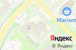 Схема проезда до компании Синий горошек в Кольцово