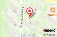 Схема проезда до компании Идея ремонта в Кольцово