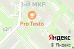 Схема проезда до компании Магазин крепежных изделий в Кольцово