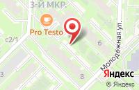 Схема проезда до компании 4hands в Кольцово