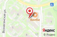 Схема проезда до компании Золушка в Кольцово