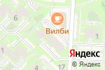 Схема проезда до компании Волна в Кольцово