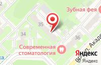 Схема проезда до компании Инколгаз в Кольцово