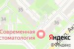 Схема проезда до компании СИБОИЛ в Кольцово