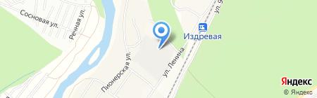 Альмета на карте Барышево
