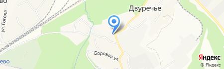 Продуктовый магазин на карте Барышево
