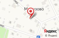 Схема проезда до компании Администрация Морозовского сельсовета в Морозово