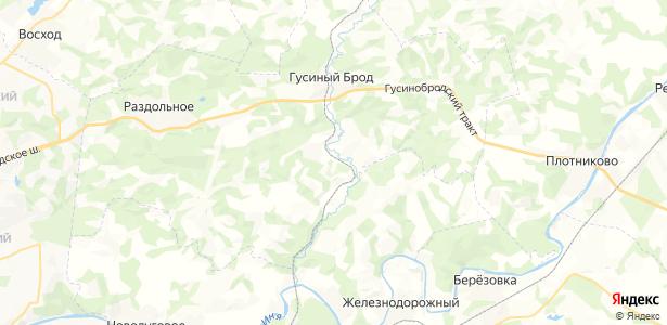 Комаровка на карте