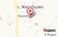 Схема проезда до компании Почтовое отделение в Жеребцово