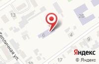 Схема проезда до компании Детский сад в Чернореченском