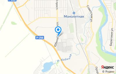 Местоположение на карте пункта техосмотра по адресу Новосибирская обл, г Искитим, пр-кт Юбилейный, д 2А