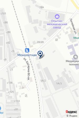 ПТФ ПРИЗМА на карте Искитима
